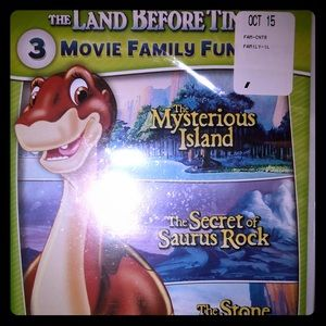 Brand New The Land Before Time Movies 5-7 DVD